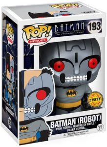 Figura FUNKO POP Chase de Batman Robot de la serie animada - FUNKO POP Chase exclusivos - FUNKO POP únicos difíciles de conseguir