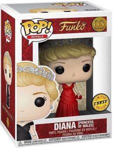 Figura FUNKO POP Chase de Diana de Gales 3 - FUNKO POP Chase exclusivos - FUNKO POP únicos difíciles de conseguir