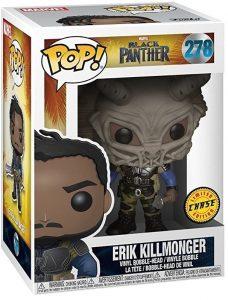 Figura FUNKO POP Chase de Erik Killmonger de Black Panther 278 de Marvel - FUNKO POP Chase exclusivos - FUNKO POP únicos difíciles de conseguir
