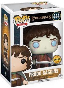 Figura FUNKO POP Chase de Frodo del Señor de los Anillos 444 - FUNKO POP Chase exclusivos - FUNKO POP únicos difíciles de conseguir