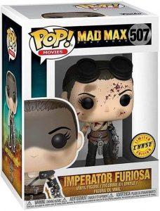 Figura FUNKO POP Chase de Imperator Furiosa de Mad Max Fury - FUNKO POP Chase exclusivos - FUNKO POP únicos difíciles de conseguir