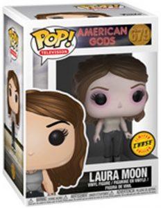 Figura FUNKO POP Chase de Laura Moon 679 de American Gods - FUNKO POP Chase exclusivos - FUNKO POP únicos difíciles de conseguir