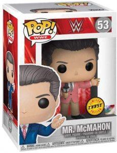 Figura FUNKO POP Chase de Mr. Mcmahon de WWE - FUNKO POP Chase exclusivos - FUNKO POP únicos difíciles de conseguir