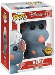 Figura FUNKO POP Chase de Remy de Ratatouille Flocked 270 - FUNKO POP Chase exclusivos - FUNKO POP únicos difíciles de conseguir