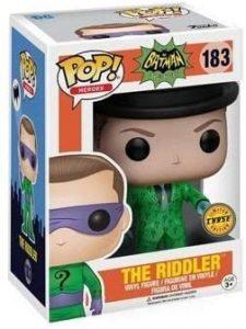 Figura FUNKO POP Chase de The Riddler 183 de la serie animada - FUNKO POP Chase exclusivos - FUNKO POP únicos difíciles de conseguir