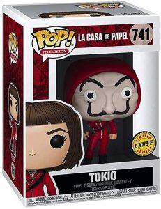 Figura FUNKO POP Chase de Tokio de la Casa de Papel - FUNKO POP Chase exclusivos - FUNKO POP únicos difíciles de conseguir