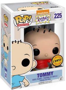 Figura FUNKO POP Chase de Tommy de los Rugrats 225 - FUNKO POP Chase exclusivos - FUNKO POP únicos difíciles de conseguir