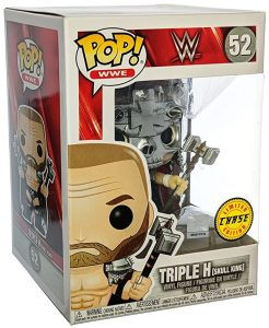 Figura FUNKO POP Chase de Triple H de WWE - FUNKO POP Chase exclusivos - FUNKO POP únicos difíciles de conseguir