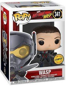 Figura FUNKO POP Chase de la Avispa de Ant-man y la Avispa - FUNKO POP Chase exclusivos - FUNKO POP únicos difíciles de conseguir