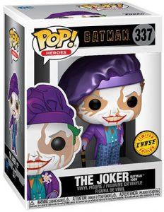 Figura FUNKO POP Chase del Joker de 1989 de Batman de DC - FUNKO POP Chase exclusivos - FUNKO POP únicos difíciles de conseguir