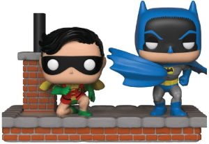 Figura FUNKO POP Moment - FUNKO POP Momentos de DC - FUNKO POP de Batman y Robin 281 - FUNKO POP Moment exclusivos