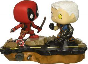 Figura FUNKO POP Moment - FUNKO POP Momentos de Marvel - FUNKO POP de Deadpool vs Cable 707 - FUNKO POP Moment exclusivos