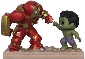 Figura FUNKO POP Moment - FUNKO POP Momentos de Marvel - FUNKO POP de Hulk vs Hulkbuster - FUNKO POP Moment exclusivos