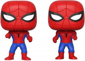 Figura FUNKO POP Moment - FUNKO POP Momentos de Marvel - FUNKO POP de Spiderman vs Spiderman - FUNKO POP Moment exclusivos