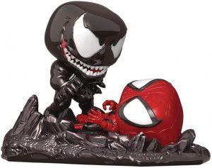 Figura FUNKO POP Moment - FUNKO POP Momentos de Marvel - FUNKO POP de Spiderman vs Venom - FUNKO POP Moment exclusivos