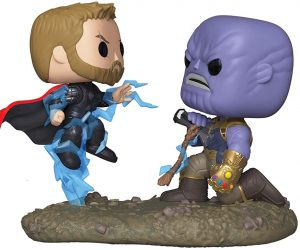 Figura FUNKO POP Moment - FUNKO POP Momentos de Marvel - FUNKO POP de Thanos vs Thor 707 - FUNKO POP Moment exclusivos