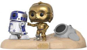 Figura FUNKO POP Moment - FUNKO POP Momentos de Star Wars - FUNKO POP de C-3PO y R2-D2 - FUNKO POP Moment exclusivos