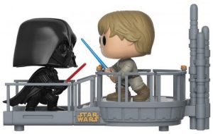 Figura FUNKO POP Moment - FUNKO POP Momentos de Star Wars - FUNKO POP de Darth Vader vs Luke Skywalker - FUNKO POP Moment exclusivos