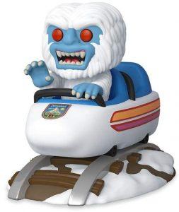 Figura FUNKO POP Rides de Abominable sobre coche de feria de Disney - FUNKO POP Rides exclusivos - FUNKO POP con vehículos