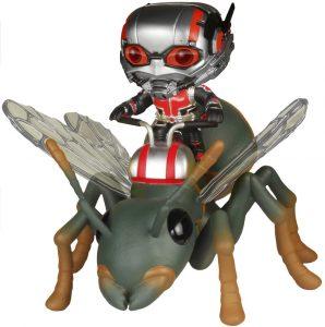 Figura FUNKO POP Rides de Antman sobre hormiga de Marvel - FUNKO POP Rides exclusivos - FUNKO POP con vehículos