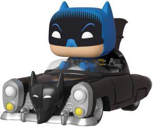 Figura FUNKO POP Rides de Batman en el Batmovil de los 80 de DC - FUNKO POP Rides exclusivos - FUNKO POP con vehículos