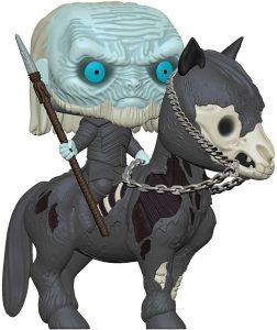 Figura FUNKO POP Rides de Caminante Blanco a caballo de Juego de Tronos - FUNKO POP Rides exclusivos - FUNKO POP con vehículos