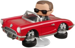 Figura FUNKO POP Rides de Coulson de Agentes de Shield de Marvel - FUNKO POP Rides exclusivos - FUNKO POP con vehículos
