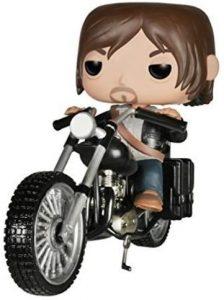 Figura FUNKO POP Rides de Daryl Dixon en moto de The Walking Dead - FUNKO POP Rides exclusivos - FUNKO POP con vehículos