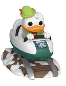 Figura FUNKO POP Rides de Donald sobre coche de feria de Disney - FUNKO POP Rides exclusivos - FUNKO POP con vehículos