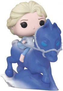 Figura FUNKO POP Rides de Elsa sobre caballo Nokk de Disney - FUNKO POP Rides exclusivos - FUNKO POP con vehículos