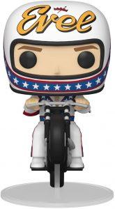 Figura FUNKO POP Rides de Evel Knievel en moto - FUNKO POP Rides exclusivos - FUNKO POP con vehículos