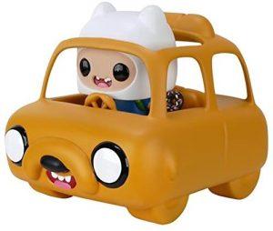 Figura FUNKO POP Rides de Finn en coche Jake de Hora de Aventuras - FUNKO POP Rides exclusivos - FUNKO POP con vehículos