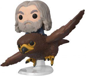 Figura FUNKO POP Rides de Gandalf sobre Águila del Señor de los Anillos - FUNKO POP Rides exclusivos - FUNKO POP con vehículos