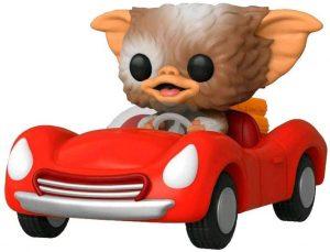 Figura FUNKO POP Rides de Gizmo en coche rojo de Gremlins - FUNKO POP Rides exclusivos - FUNKO POP con vehículos