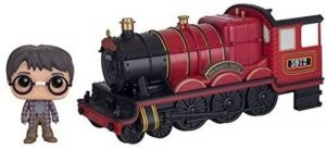 Figura FUNKO POP Rides de Harry Potter en el Hogwarts Express de Harry Potter - FUNKO POP Rides exclusivos - FUNKO POP con vehículos