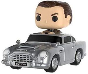 Figura FUNKO POP Rides de James Bond en Aston Martin - FUNKO POP Rides exclusivos - FUNKO POP con vehículos
