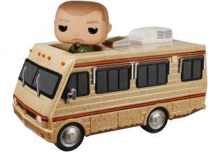 Figura FUNKO POP Rides de Jesse Pinkman en Caravana de Breaking Bad - FUNKO POP Rides exclusivos - FUNKO POP con vehículos