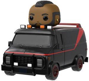 Figura FUNKO POP Rides de M.A. con furgoneta del Equipo A - FUNKO POP Rides exclusivos - FUNKO POP con vehículos