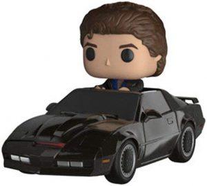 Figura FUNKO POP Rides de Michael Knight en el coche fantástico - FUNKO POP Rides exclusivos - FUNKO POP con vehículos
