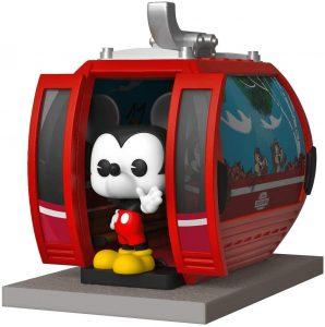 Figura FUNKO POP Rides de Mickey Mouse de Skyliner de Disney - FUNKO POP Rides exclusivos - FUNKO POP con vehículos