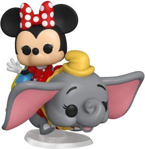 Figura FUNKO POP Rides de Minnie sobre Dumbo de Disney - FUNKO POP Rides exclusivos - FUNKO POP con vehículos