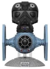 Figura FUNKO POP Rides de Piloto sobre caza imperial de Star Wars - FUNKO POP Rides exclusivos - FUNKO POP con vehículos