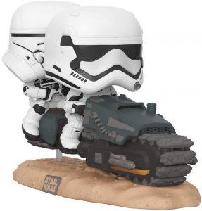 Figura FUNKO POP Rides de Stormtroopers en Speeder de Star Wars - FUNKO POP Rides exclusivos - FUNKO POP con vehículos