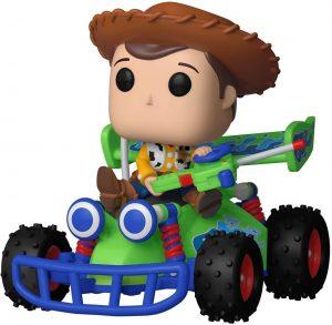 Figura FUNKO POP Rides de Woody sobre coche teleridigido de Toy Story de Disney - FUNKO POP Rides exclusivos - FUNKO POP con vehículos