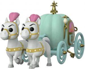 Figura FUNKO POP Rides de la carroza de la Cenicienta de de Disney - FUNKO POP Rides exclusivos - FUNKO POP con vehículos