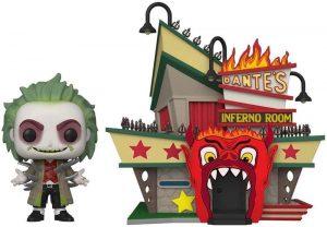 Figura FUNKO POP Town de Beetlejuice con Dante Inferno Room 06 - FUNKO POP Town exclusivos - FUNKO POP con casas y edificios
