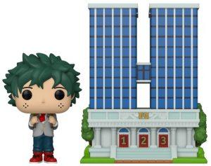 Figura FUNKO POP Town de Deku y High School de My Hero Academia 04 - FUNKO POP Town exclusivos - FUNKO POP con casas y edificios