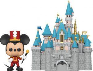 Figura FUNKO POP Town de Mickey y el Castillo de Disney - FUNKO POP Town exclusivos - FUNKO POP con casas y edificios