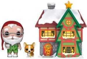 Figura FUNKO POP Town de Santa Claus y casa 01 - FUNKO POP Town exclusivos - FUNKO POP con casas y edificios