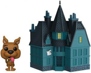 Figura FUNKO POP Town de Scooby Doo de la Mansión Encantada 01 - FUNKO POP Town exclusivos - FUNKO POP con casas y edificios